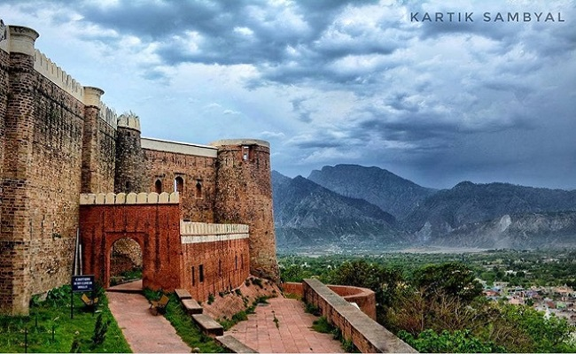 Image result for Ramnagar Fort Udhampur